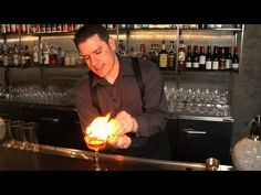 How to Flame an Orange Zest - Raising the Bar with Jamie Boudreau - Small Screen