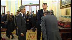 SS.AA.RR. los Príncipes de Asturias rinden homenaje a Adolfo Suárez en e...