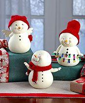 Snowpinions™ Figurines