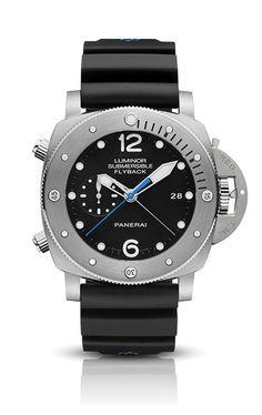 5e02ffa07b3 Panerai Luminor Submersible 1950 Black Dial Automatic Men s Watch PAM00614