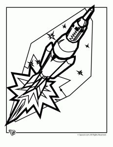 space shuttle coloring page 3 - Space Shuttle Coloring Pages 2