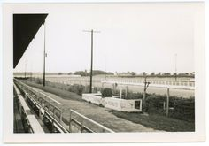 Williams Grove Speedway from Grandstand, photo taken in 1958.