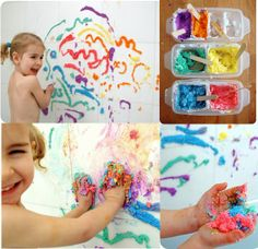 Pintura auto relevo para brincar no banho - Dicas pra Mamãe
