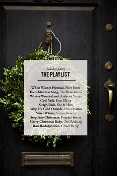 Your Next Holiday Party Planned, from Menu to Music #theeverygirl