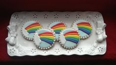 Rainbow Cookies by EZtheBakingOwl