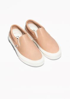 & Other Stories | Vans Leather Slip-On Shoes