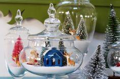 tarros de cristal decorados para navidad #manualidades #navidad #decoracion #DIY #ideas #crafts