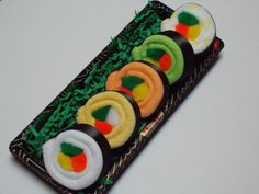 Neutral Gender Baby Sushi Rainbow Roll  Baby Shower by sisterina, $15.75