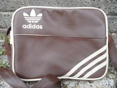 Vintage Adidas ladies shoulder back  1980's by EmpireAntiques