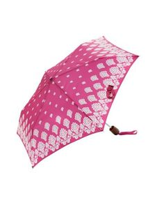 Joules Womens Printed Brolly, Maria Border Parisian Pink. Rain, rain, go away, come again another day. Staying dry will have never looked so cool with this perfectly packable umbrella. Choose from a number of delightfully detailed prints.