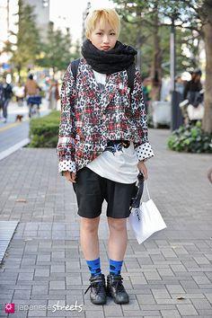 121104-4286 - Japanese street fashion in Shibuya, Tokyo