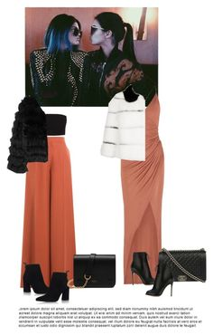 """Kendall and kylie jenner"" by streetstyless ❤ liked on Polyvore featuring Kendall + Kylie, Balmain, Gianvito Rossi, Chanel, Valentino, Stuart Weitzman, Alice + Olivia, Mulberry, RED Valentino and GetTheLook"