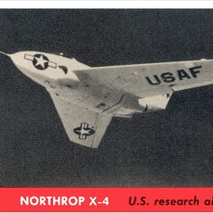 Northrop X-4  -  Jeff Sexton - Google+