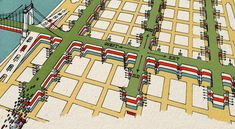 1930: Picasso Turns Manhattan into Lasagna