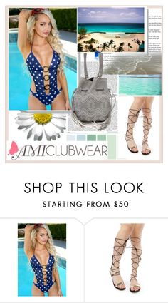 """""""AMICLUBWEAR 29/III"""" by damira-dlxv ❤ liked on Polyvore featuring amiclubwear"""