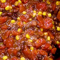 Taco Chili - The perfect chili fusion with a Mexican flair! This Taco Chili has received rave reviews from my friends and family. Chilli Recipes, Bean Recipes, Mexican Food Recipes, Crockpot Recipes, Soup Recipes, Cooking Recipes, Healthy Recipes, Taco Chili, Chili Soup