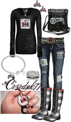 """International Harvester"" by crzrdnk77 on Polyvore"