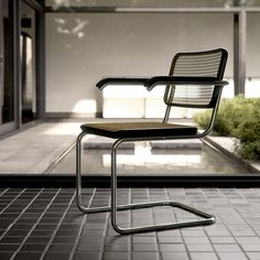https://flic.kr/p/bC8wbg   Cesca Chair   Marcel Breuer's Cesca Chair  Interior based on Philip Johnson's Hodgson House in New Canaan, Connecticut. This is a little know private home by Johson, just a stone's throw from his iconic glass house.   Modelled in 3ds Max and rendered in Vray