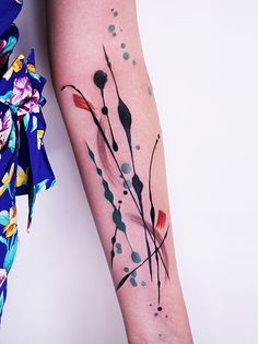 Abstract tattoo art, amazing.