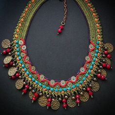 """""""The hearts that I deliberately broken were more than I earned unintentionally. Tribal Jewelry, Leather Jewelry, Beaded Jewelry, Handmade Jewelry, Beaded Necklace, Beaded Bracelets, Unique Jewelry, Crochet Bracelet, Fabric Jewelry"""