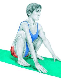So what kind of muscles do you stretch when you do yoga? Look at these stretching exercises with pictures do find out - Vicky Tomin is a Yoga exercise Hip Stretches, Stretching Exercises, Deep Squat, Muscle Groups, Massage Therapy, Asana, How To Do Yoga, Excercise, Yoga Fitness