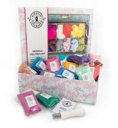 Hobbycraft Kirstie Kits - needle felting kit http://www.hobbycraft.co.uk/kirstie-allsopp