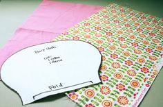 Simple burp cloth