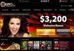 Get 3200$ #welcome #Bonus with Casino.com get #reviews and rating at here http://www.thebonuscasinos.co.uk/casino-com.html