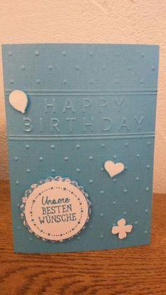 Ganz schnelle Geburtstagskarte