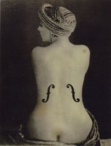man ray   venus in violins