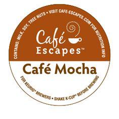 Café Escapes® Café Mocha Specialty K-Cup