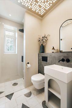 Here's where you start your days at The Maximilian, Salzburg Salzburg Austria, Bathroom Inspiration, Alcove, Bathtub, Minimalist, Industrial, Interiors, Standing Bath, Bathtubs