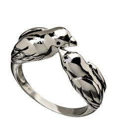 Tang and Song Silver Love Birds Ring
