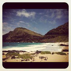 Makapuu Beach. Honolulu, Hawaii