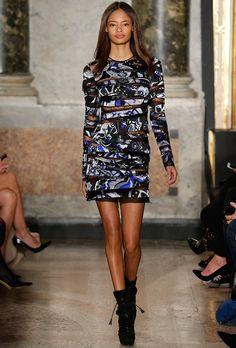 Необычное платье Emilio Pucci
