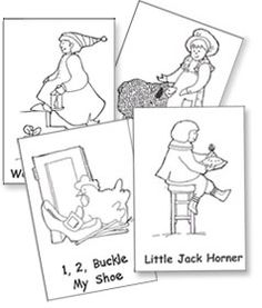 """Make Friends with Mother Goose. Download complimentary Nellie Edge Read and Sing Little Books. See """"Free Little Books"""" at http://www.nellieedge.com/free%20little%20books.htm"""