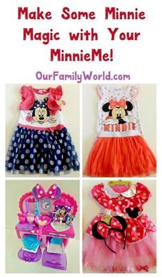 Get ready to make some Minnie Magic with your own MinnieMe! Walmart has so many fun Minnie Mouse toys and clothes to spend a special day together with your little girl! Check them out! #MinnieMe #ad