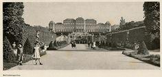 Wien Belvederegarten 1900