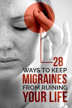 28 Ways To Keep Migraines From Ruining Your Life   This is migraine gold! When I'm in pain my brain stops. Pin now, read again later!