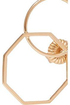 Natasha Schweitzer - Odette 14-karat Gold-plated Earring - One size