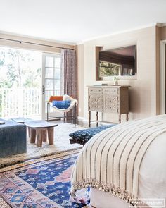 Before and After: A Perfectly California Eclectic Bedroom | MyDomaine
