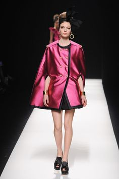 #Moschino Fall 2012 #Evening Coat