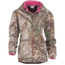 NEW~REALTREE XL BERNE WOMENS CAMO COAT JACKET PINK HUNTING UNDER ARMOUR BAND