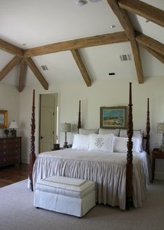 Bedroom at Rock Ridge Ranch in Parker County, Texas. Designed by Dallas Architect Stephen Chambers. - See more of this project at: http://chambersarchitects.com/parker-county-ranch.html#sthash.M5zNEdNW.dpuf Or see all of Steve's work at: http://chambersarchitects.com/ And see his custom ranch homes at: http://chambersarchitects.com/ranches/custom-ranch-home.html