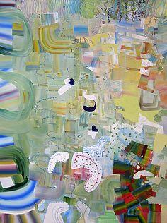 Josette Urso, Softly Green, 2013  Oil on canvas, 48 x 36 in