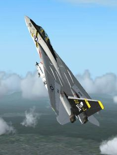 f 14 jolly rogers movies Military Jets, Military Weapons, Military Aircraft, Air Fighter, Fighter Jets, Tomcat F14, Air Force, Photo Avion, Jet Plane