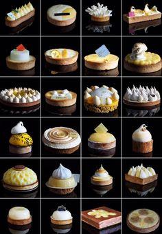 Les Tartes au Citron que j'ai goûtées pour vous Fancy Desserts, Gourmet Desserts, No Bake Desserts, Just Desserts, Dessert Recipes, French Patisserie, French Pastries, Pastry Cake, Tart Recipes