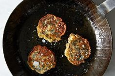 On Green Pancakes and Cooking with Kids on Food52