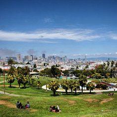 Dolores park. Love this park!