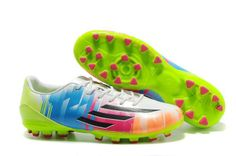 Adidas Adizero F50 TRX AG Messi Cleats 2014 World Cup Prism Colorful Electricity